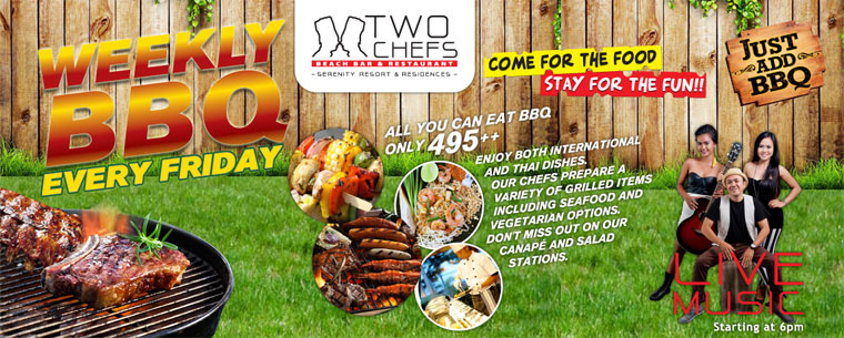 Weekly BBQ Every Friday