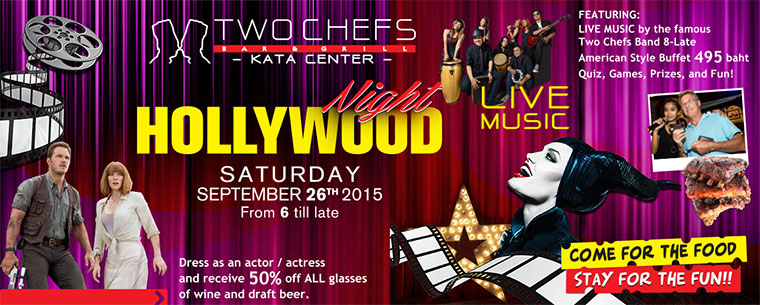 Hollywood Night 26.09.15