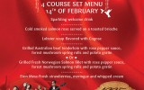 Tomorrow Is Valentine's! Book Your Table Now @ Two Chefs!