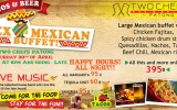 Mexican Fiesta on Saturday, April 30th @ Two Chefs Patong
