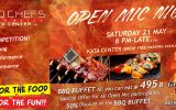 Open Mic Night on Saturday, May 21st @ Two Chefs Kata Center