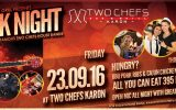 Rock Night on Friday, September 23rd @ Two Chefs Karon