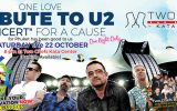 Tribute To U2: Concert For A Cause Charity Event on Saturday, October 22 @ Two Chefs Kata Center