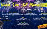 New Year Eve Set Menu on Saturday, December 31 @ All Two Chefs Locations