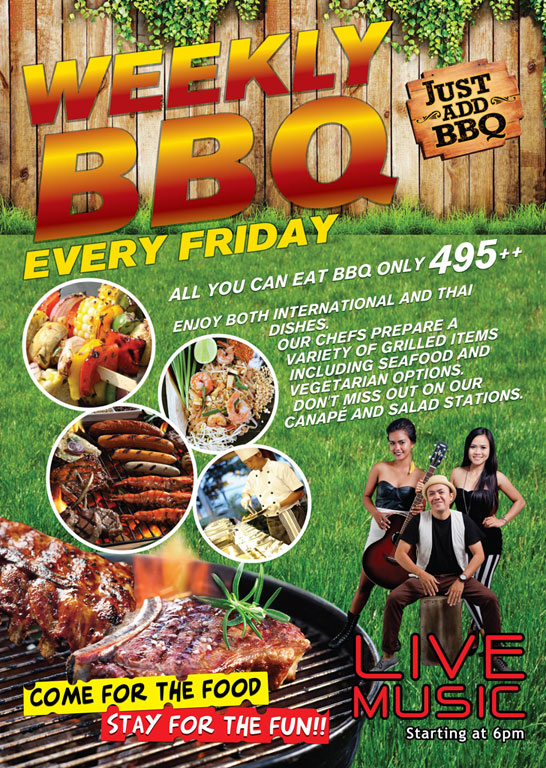 WEEKLY BBQ