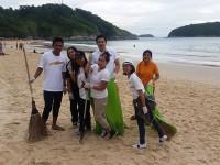 Rawai Nai Harn Bussiness Community tidy up Phuket's southwest coast