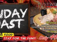 Sunday Roast @ All Two Chefs Restaurants