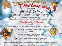 Christmas Day at Two Chefs Patong on Dec 25, 2018