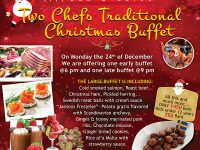 Traditional Christmas Eve Buffet at Kata Beach on Dec 24, 2018