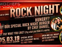 TWO CHEFS ROCK NIGHT